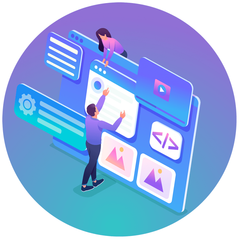 Edmonton Website Designers - Website Development Icon - Loop Marketing