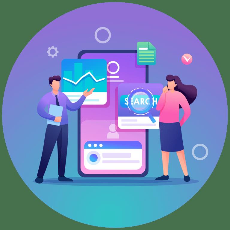 Edmonton SEO Search Engine Optimization - SEO Icon - Loop Marketing