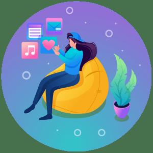 Edmonton Social Media Marketing - Social Media Icon - Loop Marketing