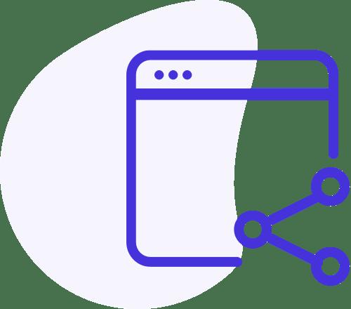 Social Media Marketing Icon - Loop Marketing